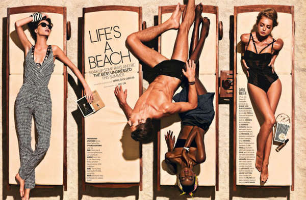 Seashore Lounging Editorials