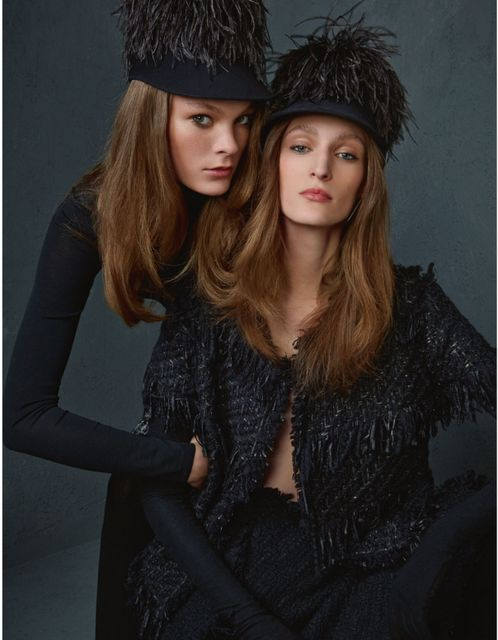 Highly Texturized Fashion Editorials