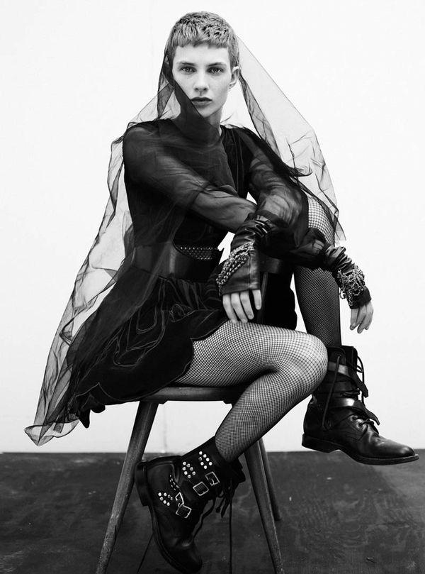 Feminine Punk Fashion