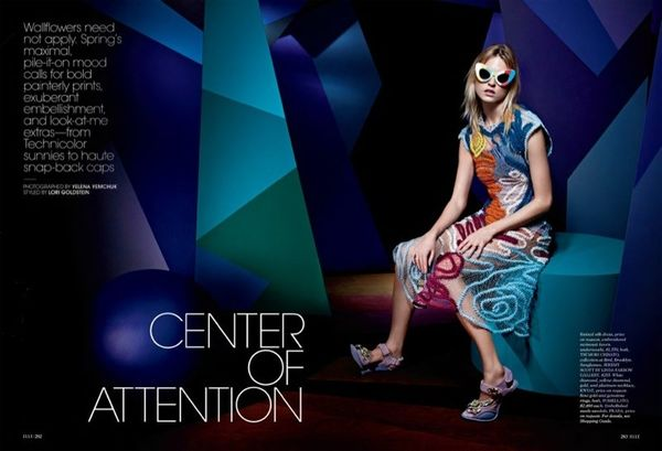 Vibrantly Prismatic Editorials