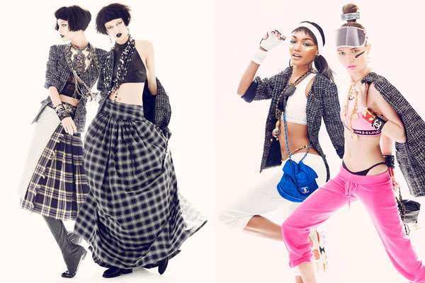 Chanel Jacket-Inspired Editorials