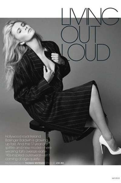 ELLE US 'Living Out Loud'