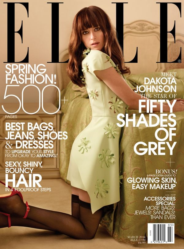 ELLE US March 2014 cover