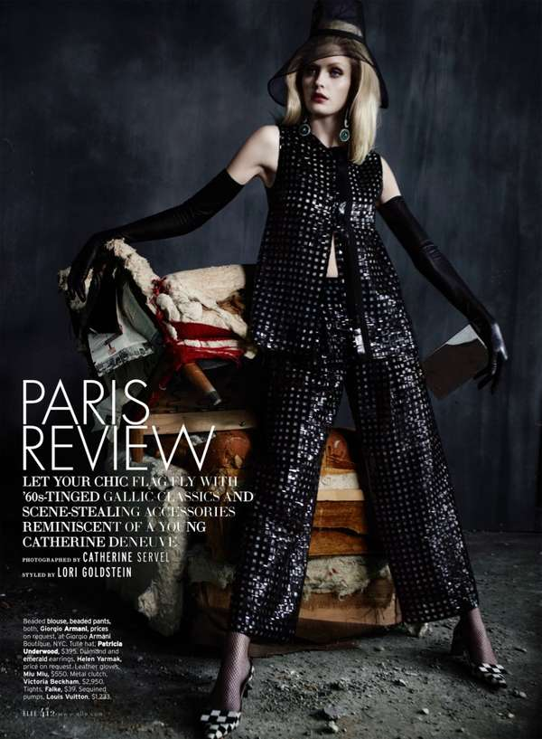 ELLE US 'Paris Review'