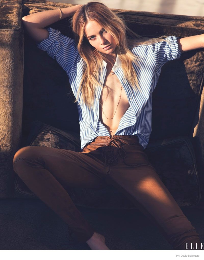 Lux Lounging Editorials