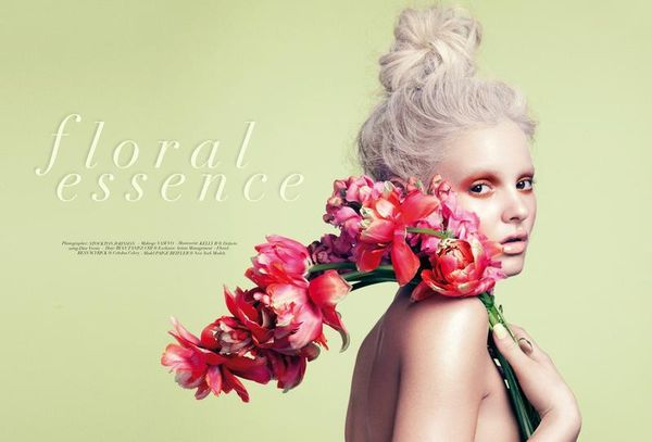 Whimsical Floral Editorials