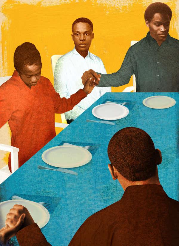 Grainy Family Illustrations