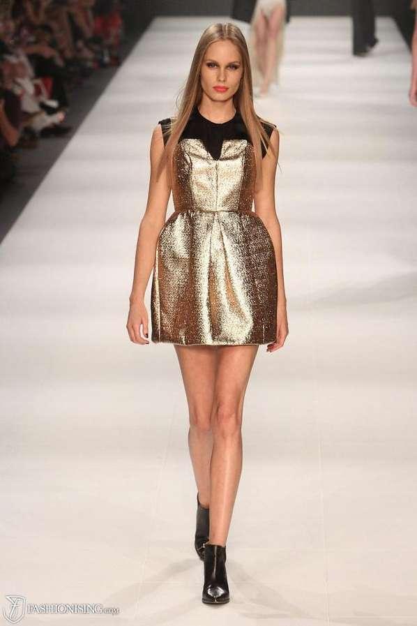 Glamorous Gold Catwalks