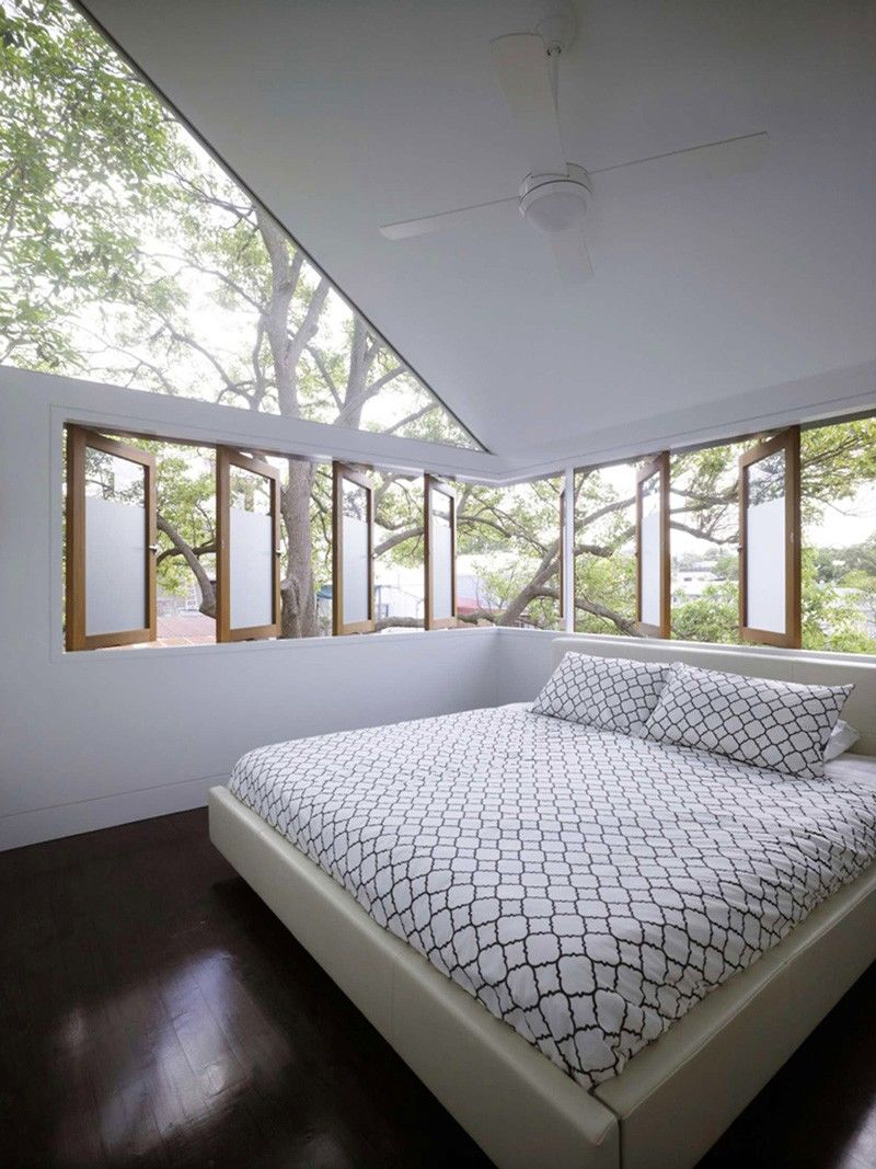 Geometric Glass Houses