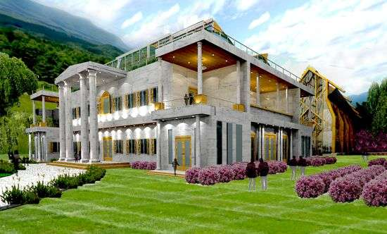 Sustainable Wedding Mansions