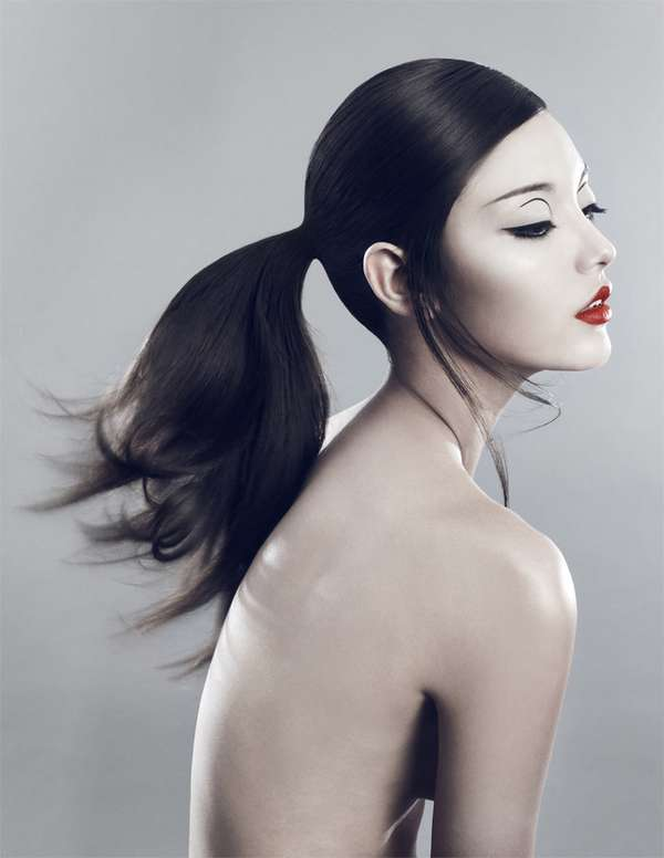 Boldly Sleek Beauty Photoshoots