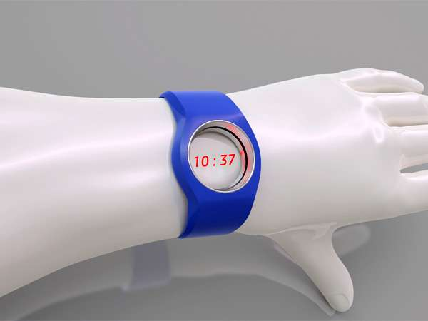 Projected Laser Timepieces