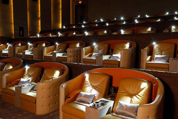 Comfortable Luxury Cinemas Embassy Diplomat Screens