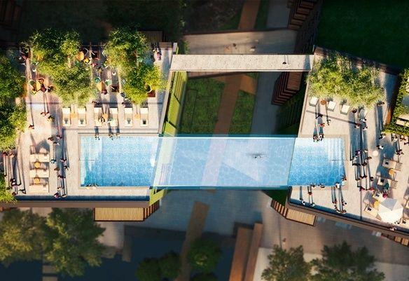 Floating Sky Pools Embassy Gardens