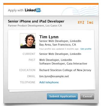 Embeddable Job Applications