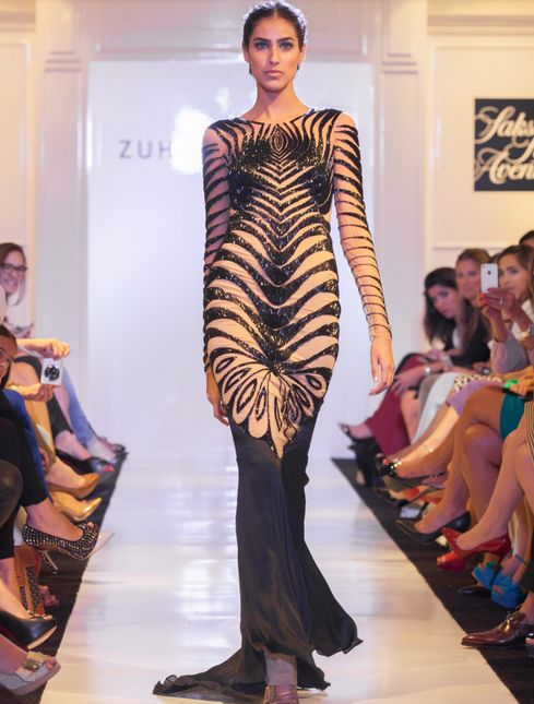 Embroidered Gown Runways