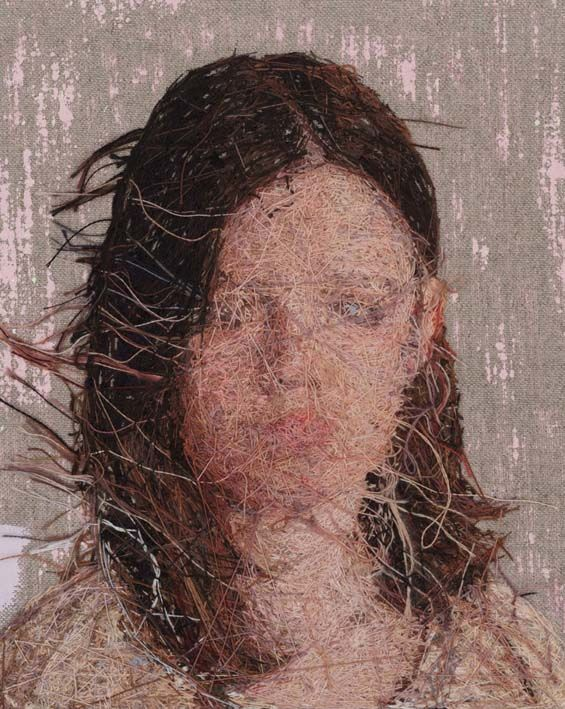 Hyper-Realistic Embroidery Portraits