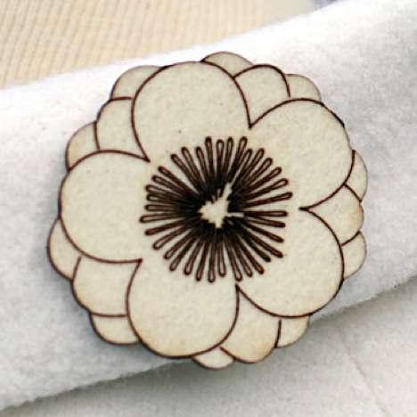 Papercraft-Inspired Jewelry