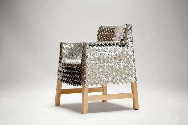 Metallic Eco-Chairs