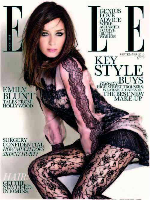 Emily Blunt Elle UK September 2010