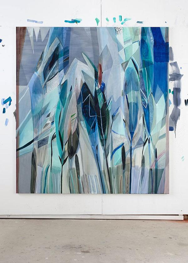 Light Blue Linen Paintings