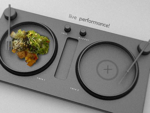 Turntable Dinner Trays
