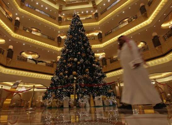 Emirates Hotel Christmas Tree