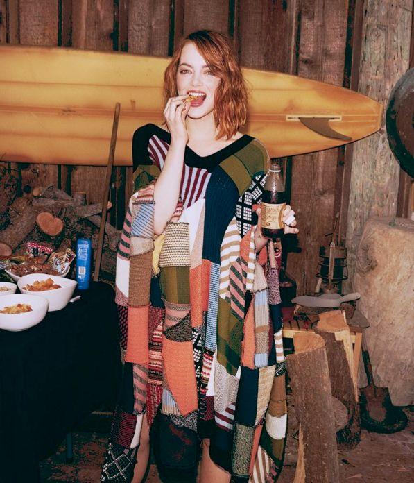 Sweater-Clad Celebrity Photoshoots