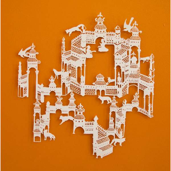 Intricate Cut & Paste Art