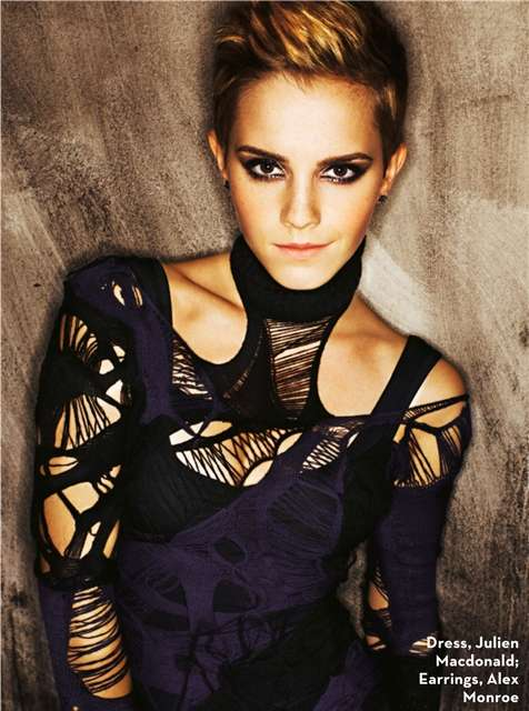 Emma Watson Stylist UK November 2010