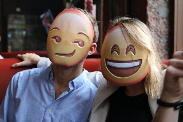 Expressive Emoji Masks