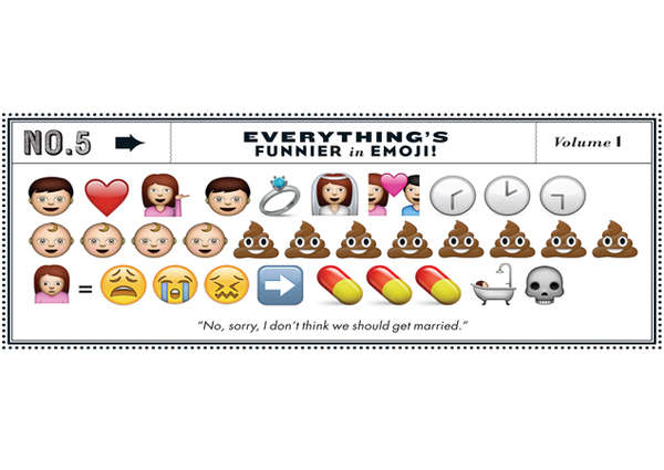 Comedic Emoji Stories