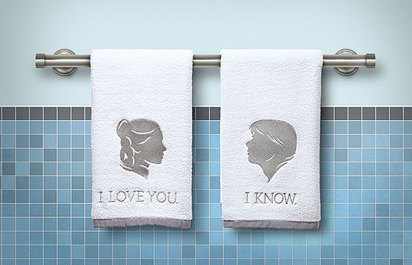 Romantic Sci-Fi Washcloths