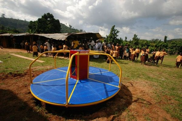 Energy-Generating Jungle Gyms