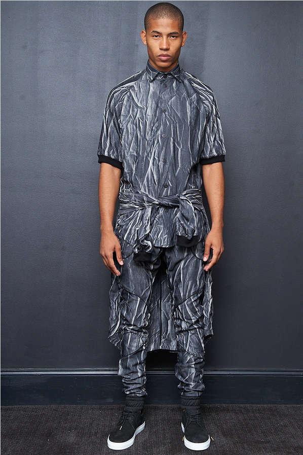 Coal-Patterned Menswear