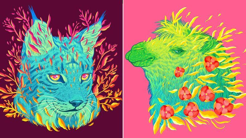 Psychedelic Species Artwork