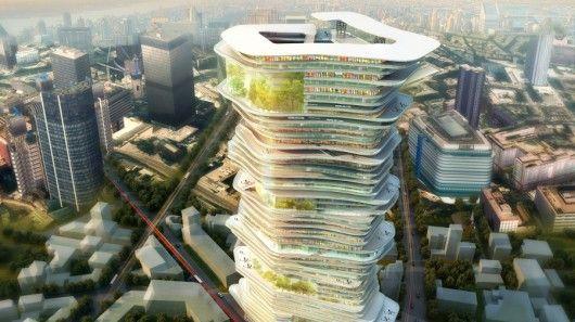 Spiral Skyscraper Concepts