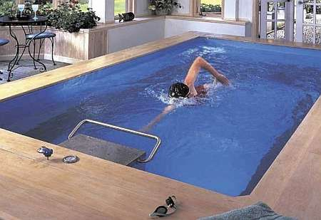 Endless Pool Swimming Machine For Your Home