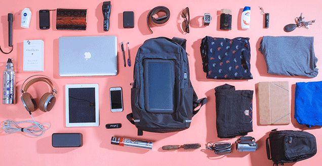 Solar-Powered Smart Backpacks
