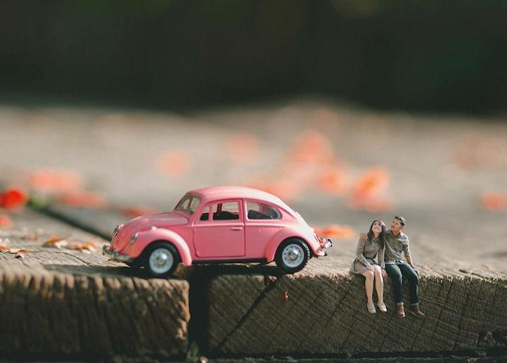 Miniature Engagement Photos