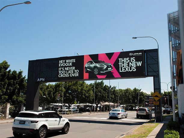Targeted Highway Billboards