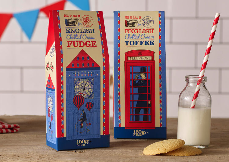 English Dessert Packaging