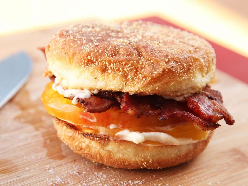 Summertime Breakfast Sandwiches