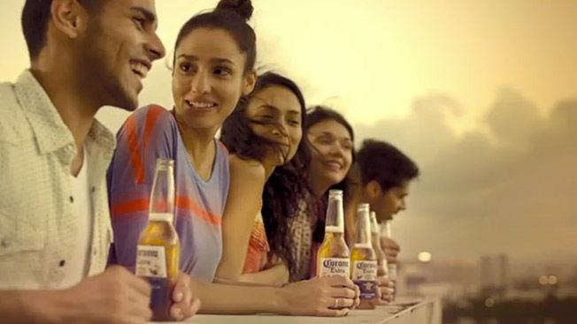 Cross cultural beer campaigns english spanish corona commercial aloadofball Choice Image