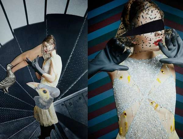 Surreal Fashion Photomontages