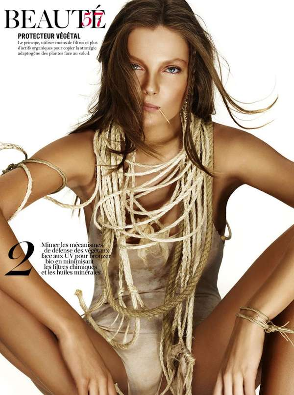 eniko mihalik Vogue Paris June/July 2011