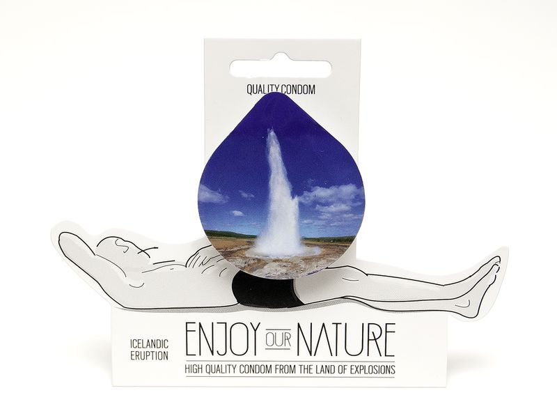 Suggestive Nature-Themed Condoms