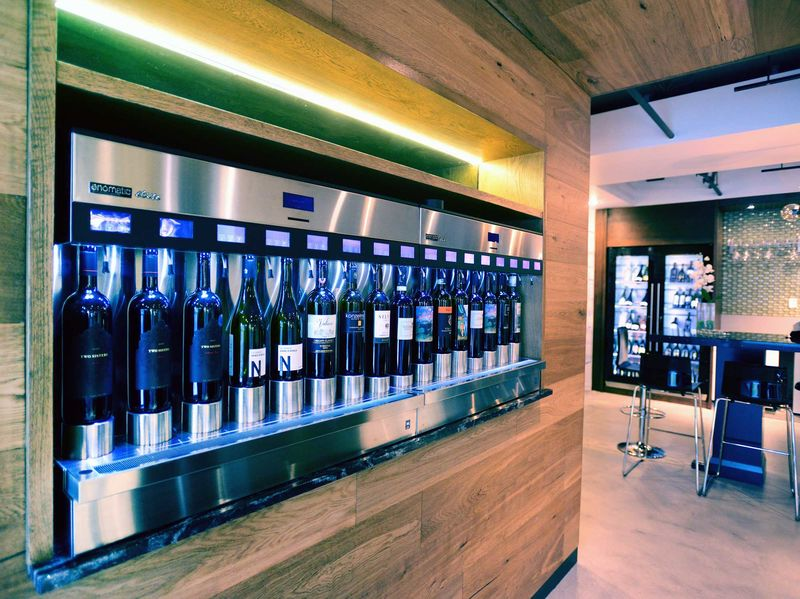 Futuristic Liquor Stores Enostore