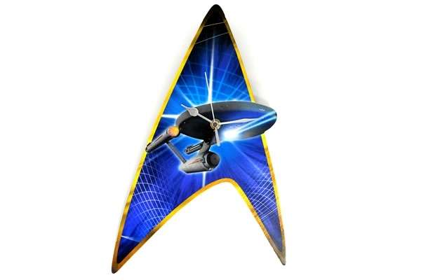 Enterprise Star Trek Wall Clock