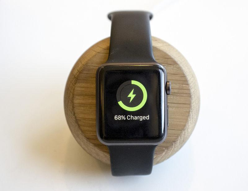 Wooden Smartwatch Cradles